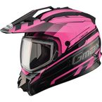 Black/Pink GM11S Trekka Snow Sport Snowmobile Helmet - 72-7133M