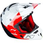 Rift Red ECE Certified F4 Helmet - 5106-001-140-102
