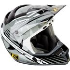Shattered Black ECE Certified F4 Helmet - 5106-001-140-008