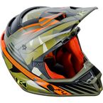 Shattered Green ECE Certified F4 Helmet - 5106-001-160-302