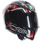 Red K5 Hurricane Helmet - 0041O2G000809