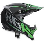 Green/Gray AX8 Carbon Helmet - 7511O2C0011309