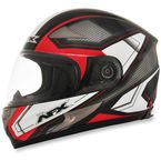 Black/Red FX-90 Extol Helmet - 0101-8407