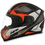 Black/Safety-Orange FX-90 Extol Helmet - 0101-8418