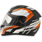 Black/Safety Orange FX-95 Airstrike 2 Helmet - 0101-8605