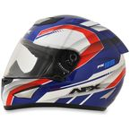 Red/White/Blue FX-95 Airstrike 2 Helmet - 0101-8611