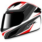 White/Red FX-24 Stinger Helmet - 0101-8681