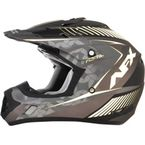 Frost Gray/White FX-17 Youth Factor Helmet - 0111-1015