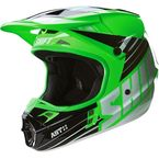 Green Assault Race Helmet - 16108-004-L