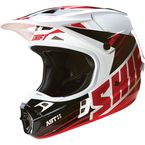 Black/White Assault Race Helmet - 16108-018-S