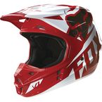 Red V1 Race Helmet - 14400-003-M