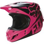 Youth Pink V1 Race Helmet - 15226-170-S