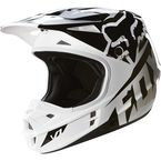 Youth Black V1 Race Helmet - 15226-001-M