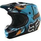 Youth Aqua Vicious V1 Helmet - 15229-246-S