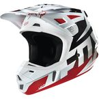 Red/White Race V2 Helmet - 14403-054-L