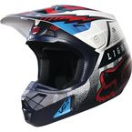 Blue/White Viciouse V2 Helmet - 14992-025-L