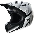 Black/White Shiv V3 Helmet - 14939-018-XL