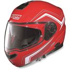 Red/White N104E Como Helmet - N1R5273440468