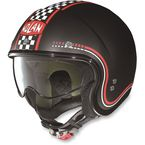 Flat Black/Red N21 Lario Helmet - N2N5273430021