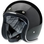 Gloss Black/Gold Mini Flake Bonanza Helmet - BH-BGD-GLMIN-LG