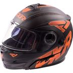 Matte Orange Fuel Modular Helmet - 16409