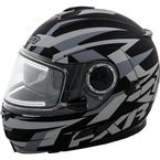Charcoal Fuel Modular Helmet with Electric Shield - 15410