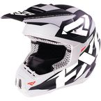 Black/White Torque Core Helmet - 16408