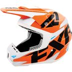 Orange Torque Core Helmet - 16408