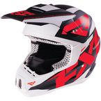 Matte Red Torque Core Helmet - 16408