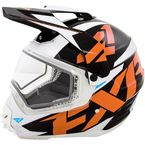 Orange Torque X Core Helmet - 16405