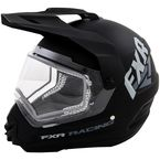 Matte Black Torque X Recoil Helmet with Electric Shield - 15406