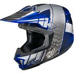Blue/Gray/Silver CL-X7 Cross-Up MC-2 Helmet - 57-1426
