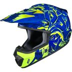 Blue/Neon Green CS-MX 2 Graffed MC-2H Helmet - 55-5624