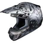Black/Gray/Silver CS-MX 2 Graffed MC-5 Helmet - 0871-1005-06