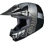 Youth Black/Gray/Silver CL-XY 2 Cross-Up MC-5 Helmet - 57-4956