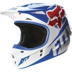 Blue V1 Race Helmet - 14400-002-L