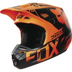 Orange Union V2 Helmet - 15180-009-L