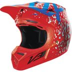 Red Cauz V3 Helmet - 14989-003-L