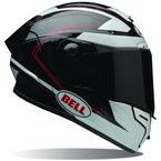 Black/White Ratchet Pro Star  Helmet - 7069551