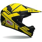Charcoal/Yellow SX-1 Stack Helmet - 7069447