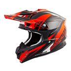 Neon Orange/Black VX-35 Krush Helmet - 35-1805