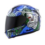 Red/Blue EXO-R410 Bushido Helmet - 41-1104