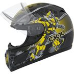 Youth Yellow RR601 Mecanic Snow Helmet - 503462