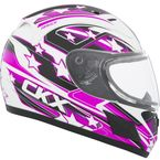 Youth Pink RR601 Hero Snow Helmet - 503513