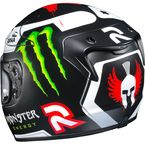Black/White/Red/Green RPHA 10 Pro MC-1F Loreno Replica III Helmet - 0801-2631-08