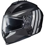 Charcoal/Gray/Black IS-17 MC-5 Grapple Helmet - 0818-1405-06