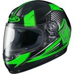 Youth Neon Green/Black CL-Y MC-4 Striker Helmet - 234-943