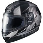 Youth Black/Gray CL-Y MC-5 Striker Helmet - 234-952