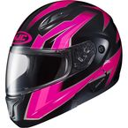 Neon Pink/Black CL-Max 2 MC-8 Ridge Modular Helmet - 0845-1308-06