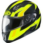 Hi-Viz Green/Yellow/Black CL-Max 2 MC-3H Ridge Modular Helmet - 978-934